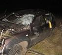 В Тульской области перевернулся автомобиль «Шевроле Нива»