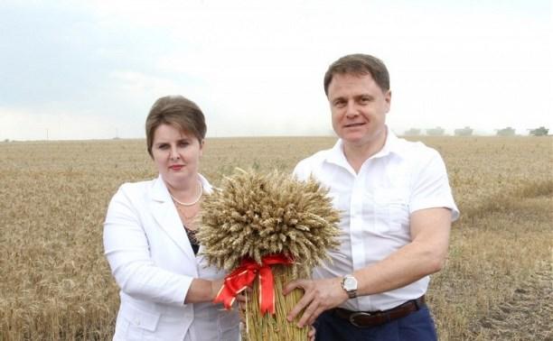 В Каменском районе Владимир Груздев похвалил отечественную сельхозтехнику