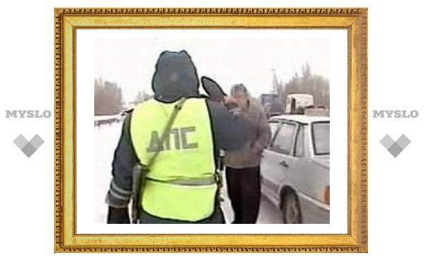 Ситуация на дорогах Тулы: серьезных ДТП нет