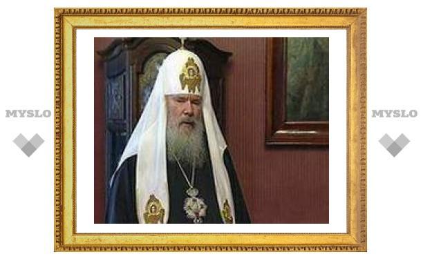 Алексий II провел службу в день 600-летия кончины преподобного Саввы