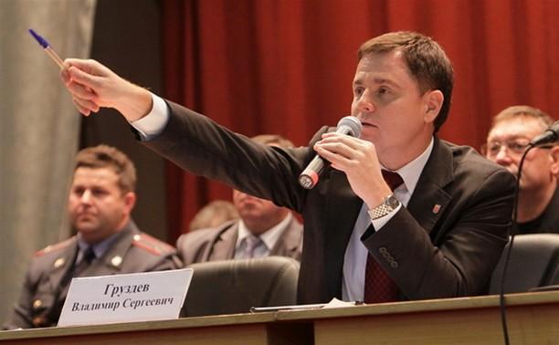Владимир Груздев внес в Тульскую областную Думу проекты новых законов