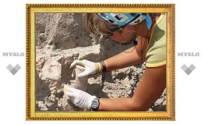 В Суворовском районе откопали древний город