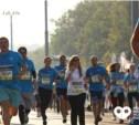 Тулячка приняла участие в московском марафоне