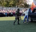 Тульские юнармейцы в школе «освободили заложников»