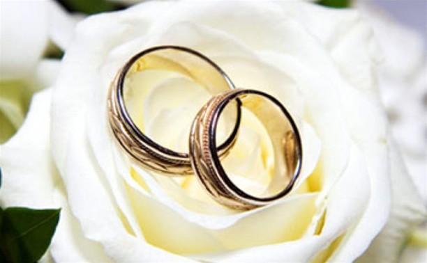 С начала месяца в Туле зарегистрирован 121 брак