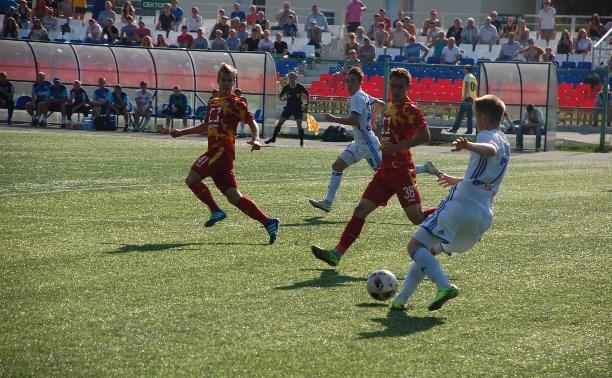 Молодежка «Арсенала» сыграла вничью с «Оренбургом»