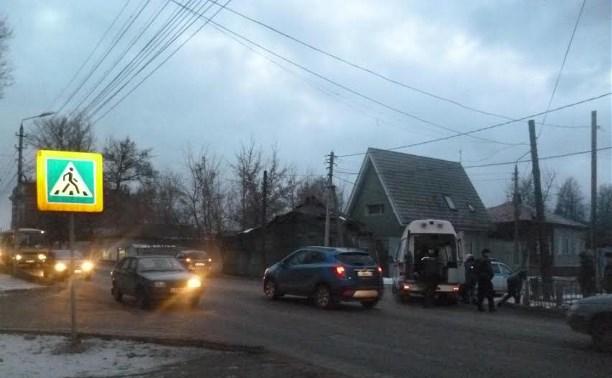 На ул. Тимирязева водитель «Калины» сбил женщину на пешеходном переходе