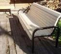 В Туле 20-летний мужчина украл скамейку из парка