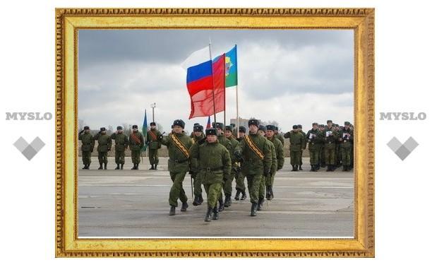 В Туле отрепетируют парад ко Дню Победы