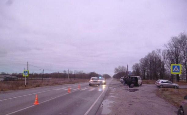 В Ленинском районе водитель «Калины» насмерть сбил пенсионерку