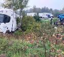 На трассе под Тулой столкнулись три грузовика: погибли четыре человека