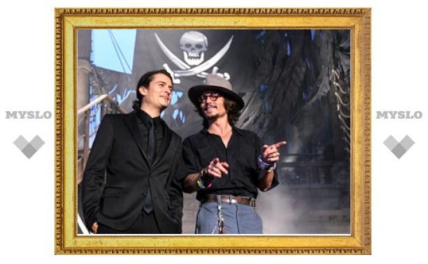 """Джонни Депп уйдет из """"Пиратов Карибского моря"""" после четвертого фильма"""