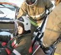В Щёкино спасатели ликвидировали последствия условного ДТП