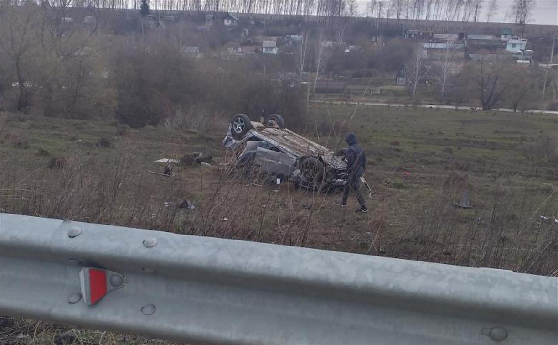 В Веневском районе опрокинулся Opel: пострадали четыре человека