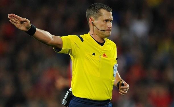 Владислав Безбородов назначен главным арбитром на матч «Анжи» – «Арсенал»