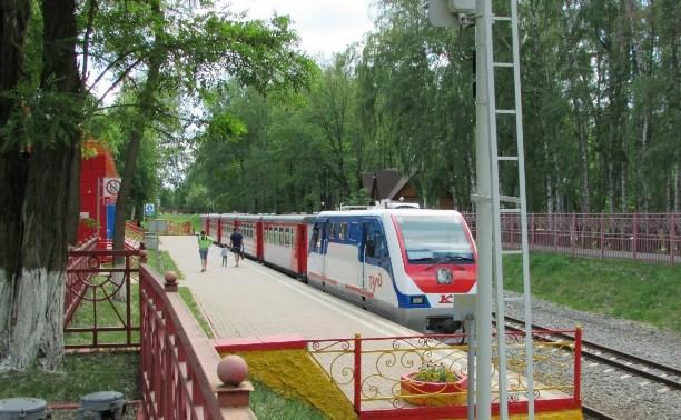Детская железная дорога в Новомосковске заработает с 30 апреля