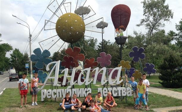 Юные тульские баскетболисты выступили на фестивале в Анапе