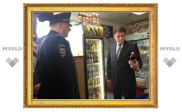 Губернатор навел порядок в веневском магазине