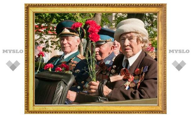 В Туле состоялось посвященное Дню Победы шествие
