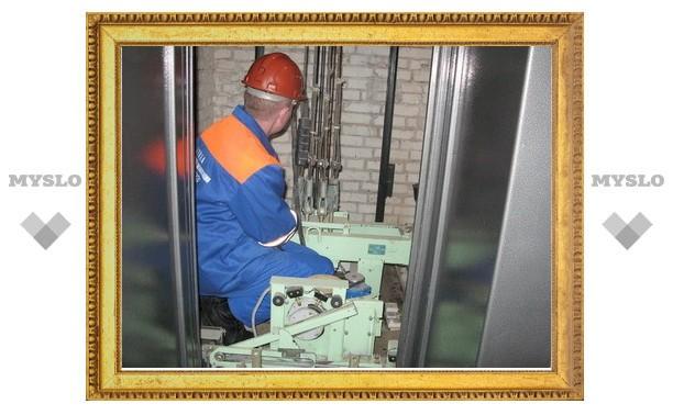 К концу марта в Туле отремонтируют лифты