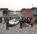 От взрыва газа на Алексинском шоссе разрушился двухэтажный гараж