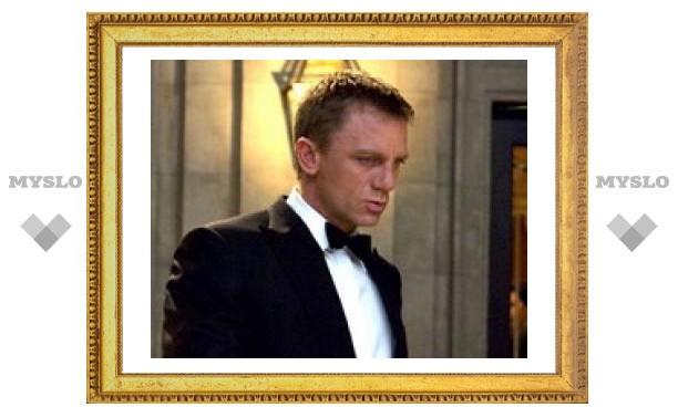 В Британии на аукцион выставлен поцелуй Джеймса Бонда