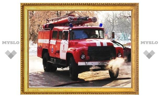 Угнанный под Тулой автомобиль найден сожженным