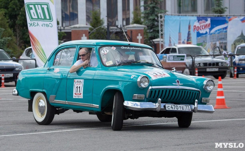 В Туле пройдёт ретро-ралли и выставка раритетных машин