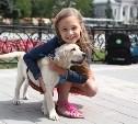 Президент России подарил 7-летней тулячке щенка лабрадора