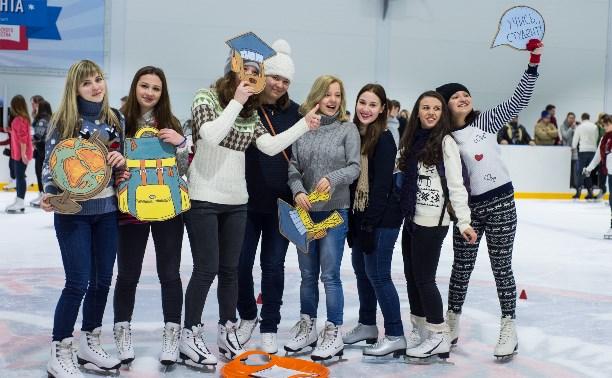 Тульские студенты отметили свой праздник на льду