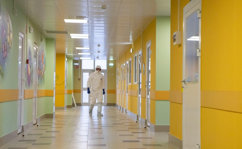 В Туле готов к работе госпиталь для приема больных коронавирусом: фоторепортаж