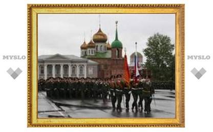 В Туле состоялся парад Победы