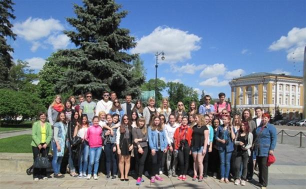 Немецкие школьники побывали на экскурсии в Туле