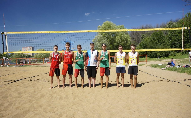 В Туле разыграли первенство региона по пляжному волейболу