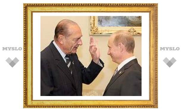 Жак Ширак отложил мартовский визит к Путину