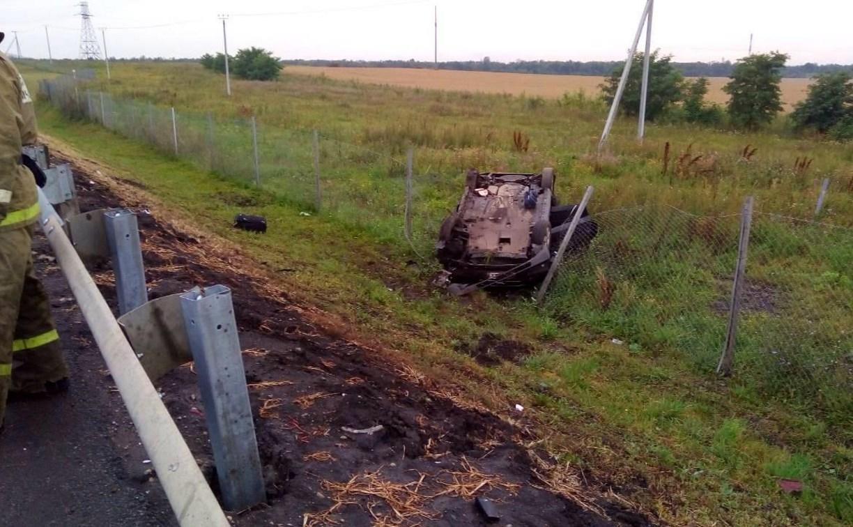 В Тульской области в ДТП пострадала семья из Липецка