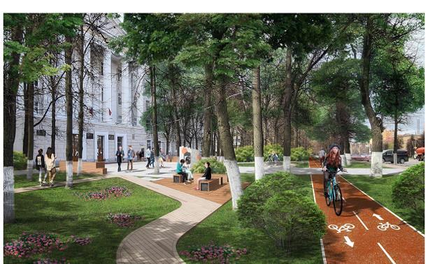 Пешеходная улица Смидович, новые променад и коворкинги: как трансформируют студгородок в ТулГУ