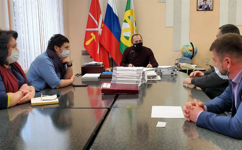 Глава узловской администрации провёл совещание с руководством Тульского филиала ООО «МСК-НТ»