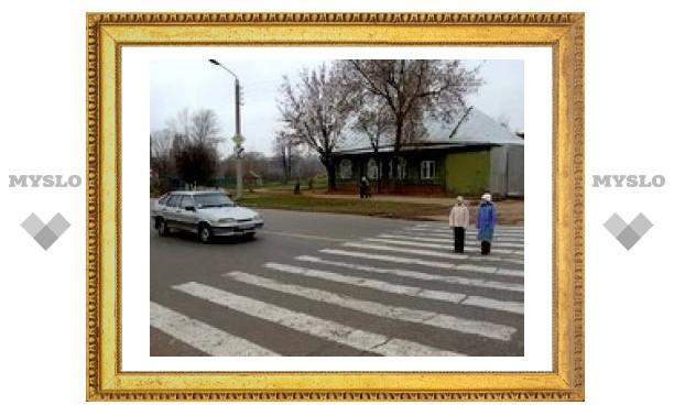 Водителей научат уступать дорогу пешеходам