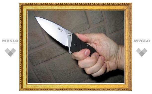 В центре Тулы щекинец пытался убить знакомого
