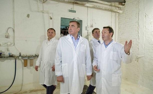 Алексей Дюмин посетил  ООО «Заокское»
