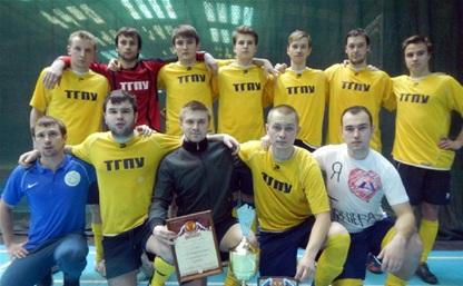 Тульские студенты выиграли мини-футбольный турнир «Кубок Невы»