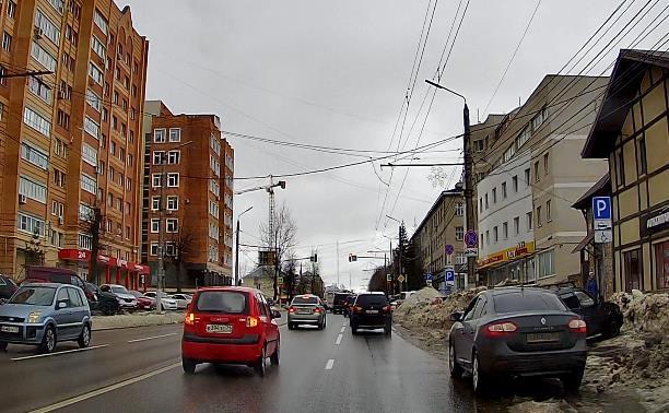 «Накажи автохама»: торопливая малолитражка на ул. Болдина