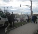 В Туле на улице Металлургов мотоциклист сбил пешехода