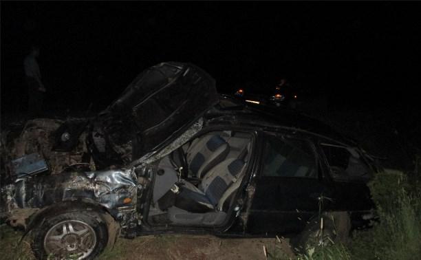 В Тульской области перевернулся «Форд»: водитель погиб