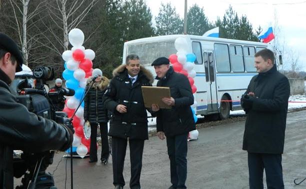 Корпорация «ГРИНН» построила в Новомосковске новую дорогу