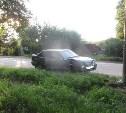 В Мясново пожилой водитель «Лады» влетел в столб
