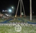 В Туле пьяный водитель сбил стелу «поселок Скуратовский»