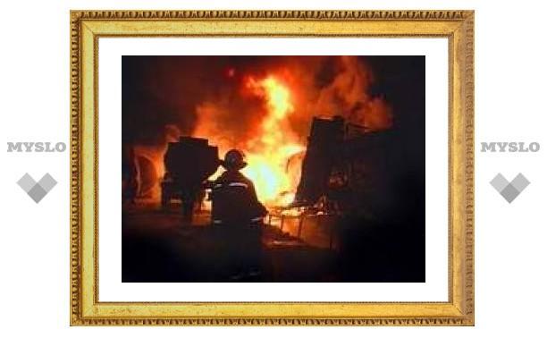 В Волгограде произошел пожар на НПЗ