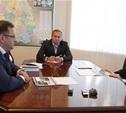 Владимир Груздев провел рабочую встречу с главами Кимовского района